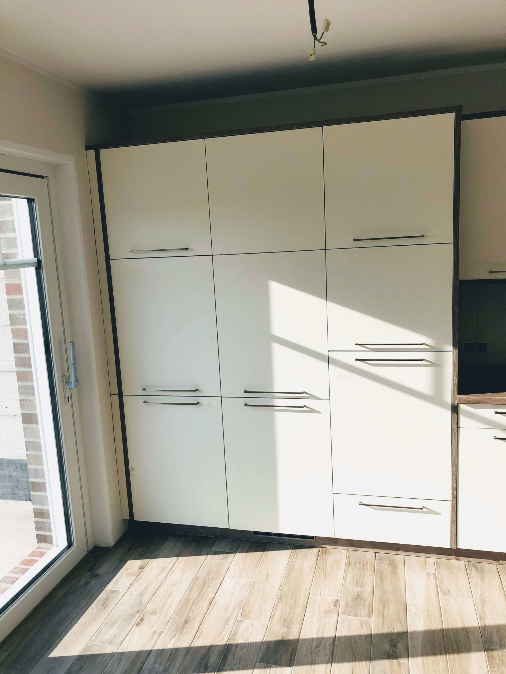 Bauformat Winkelküche Hochschrank