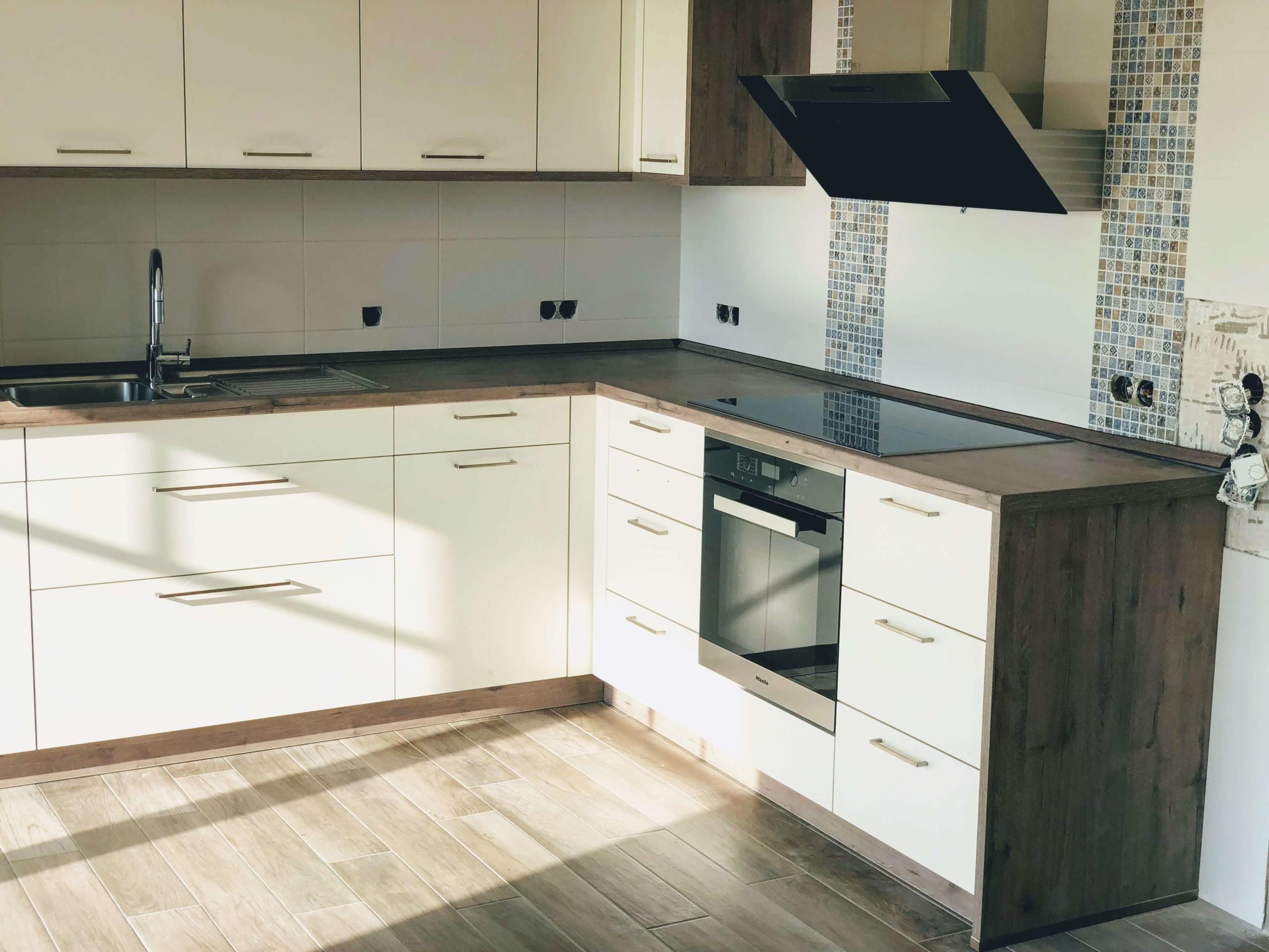 Bauformat Winkelküche Kochzone