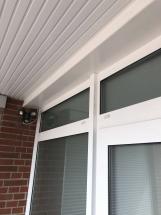 Verkleidung Haustür Seitenansicht