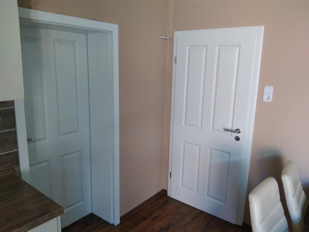 Zimmertür Trend 4 weiß übertiefe Zarge
