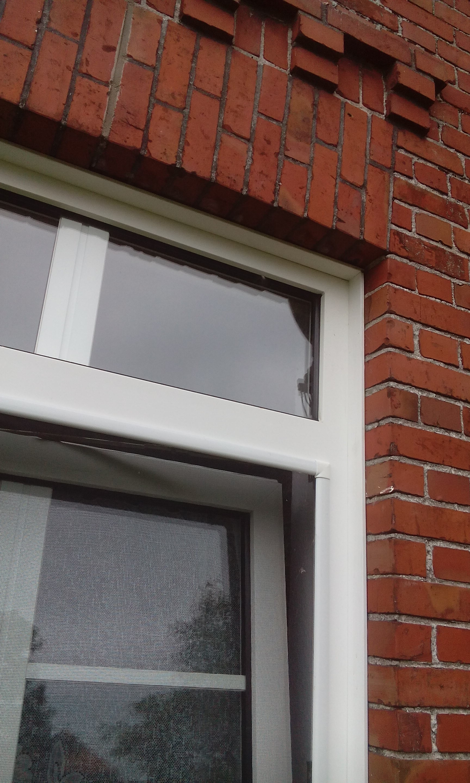 Sprossenfenster mit Oberlicht