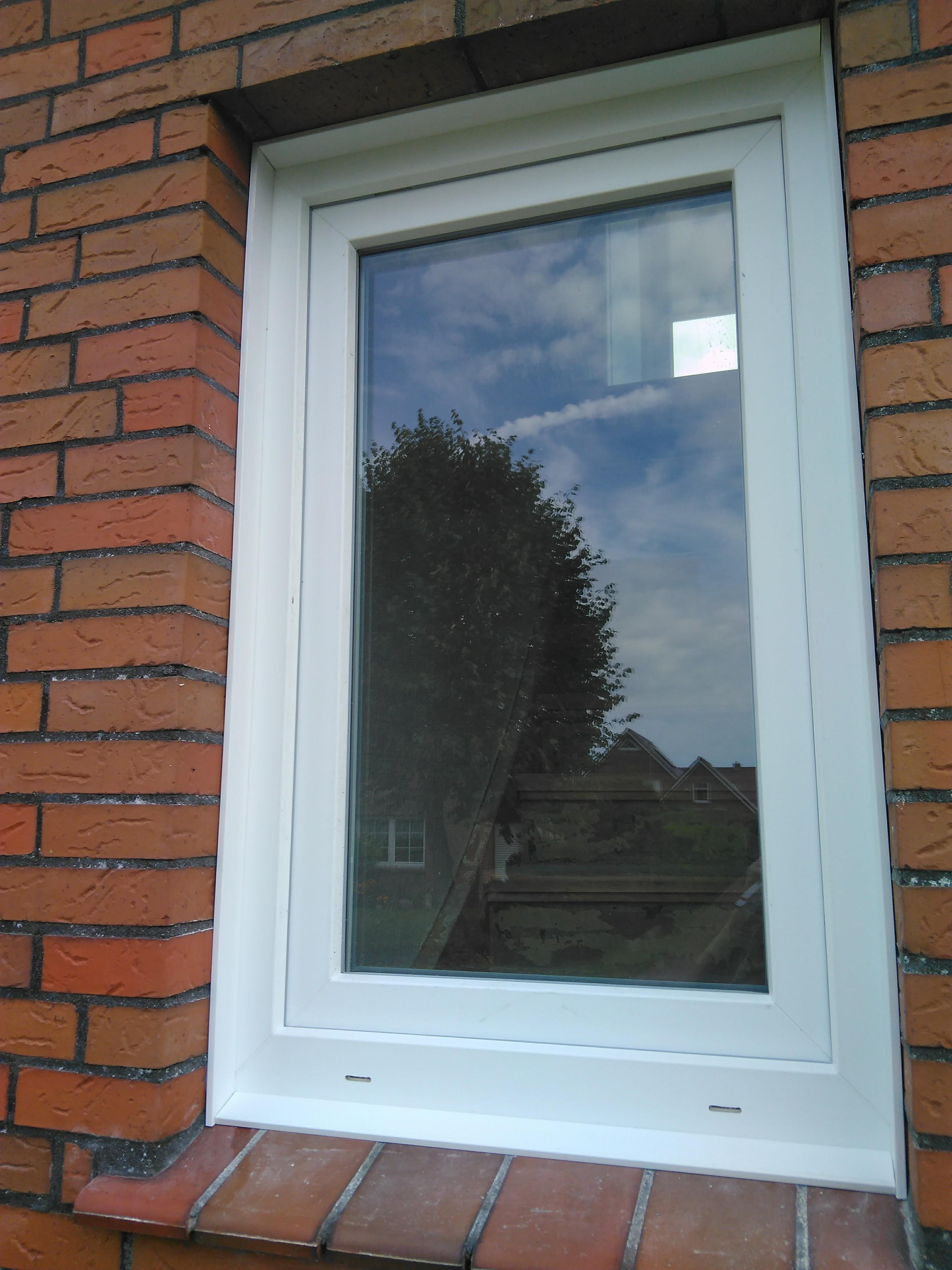 1 flg. Fenster vorderansicht