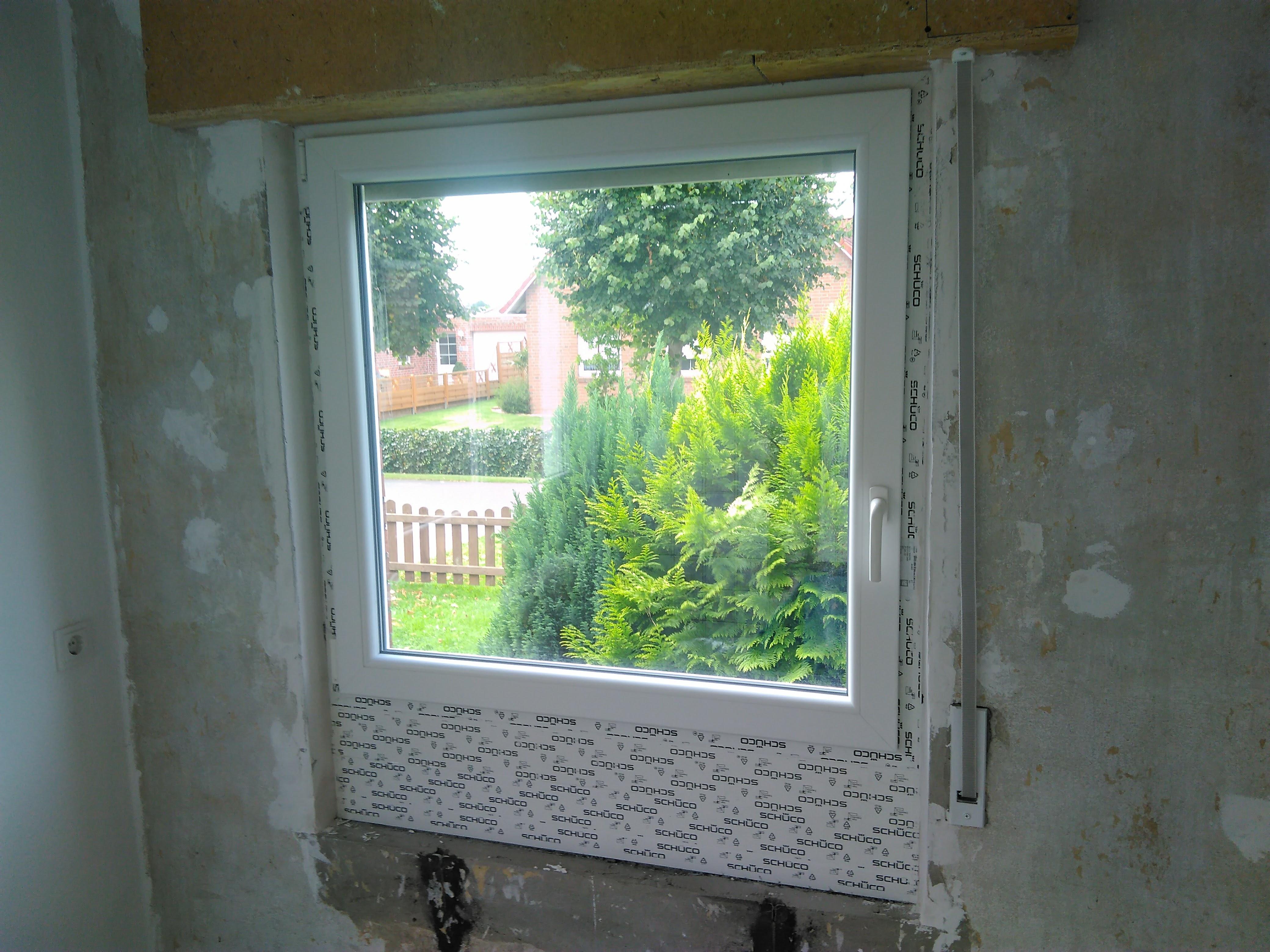 Küchenfenster mit mehrfacher Aufdopplung Innenansicht 2