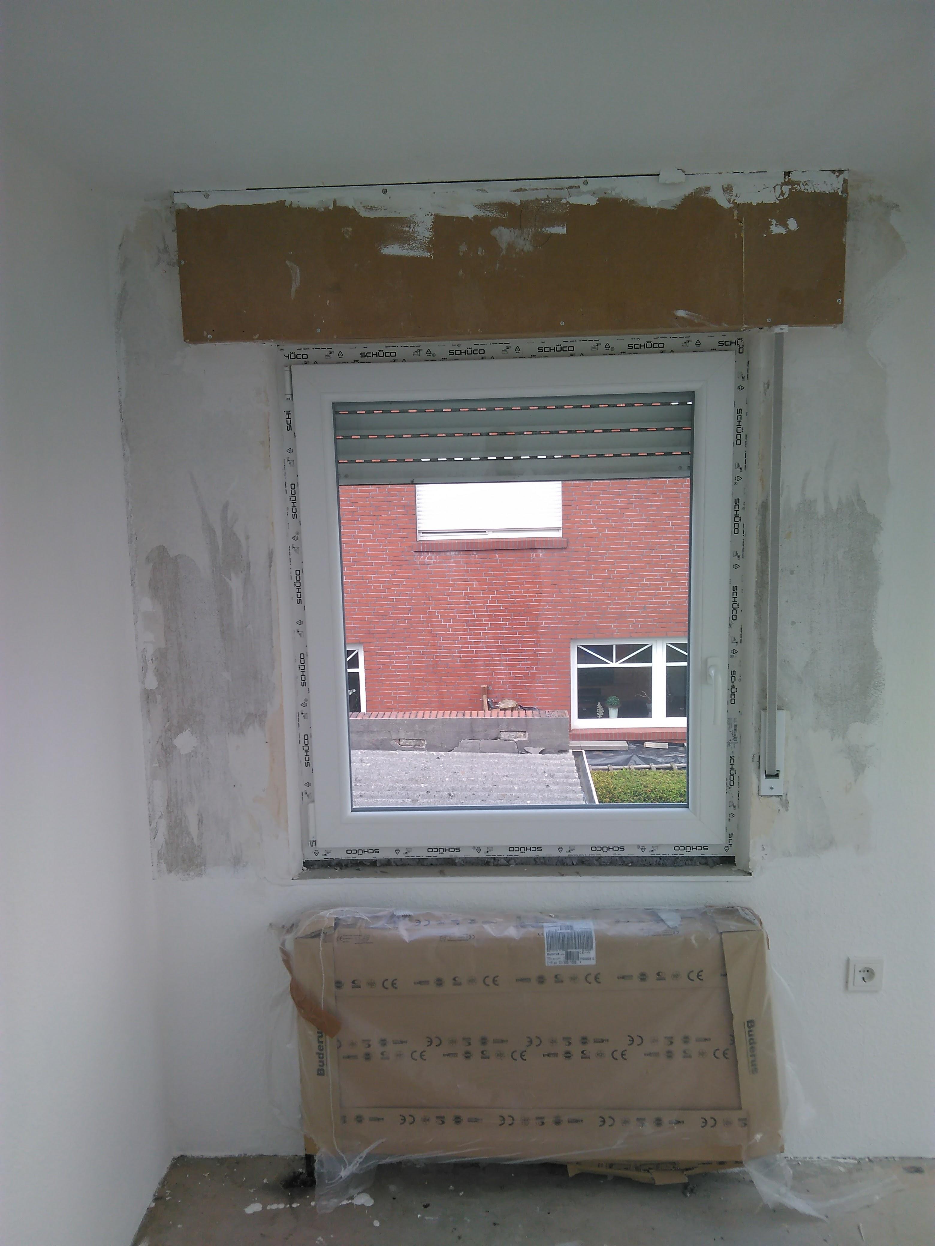 Schlafzimmerfenster DIN L