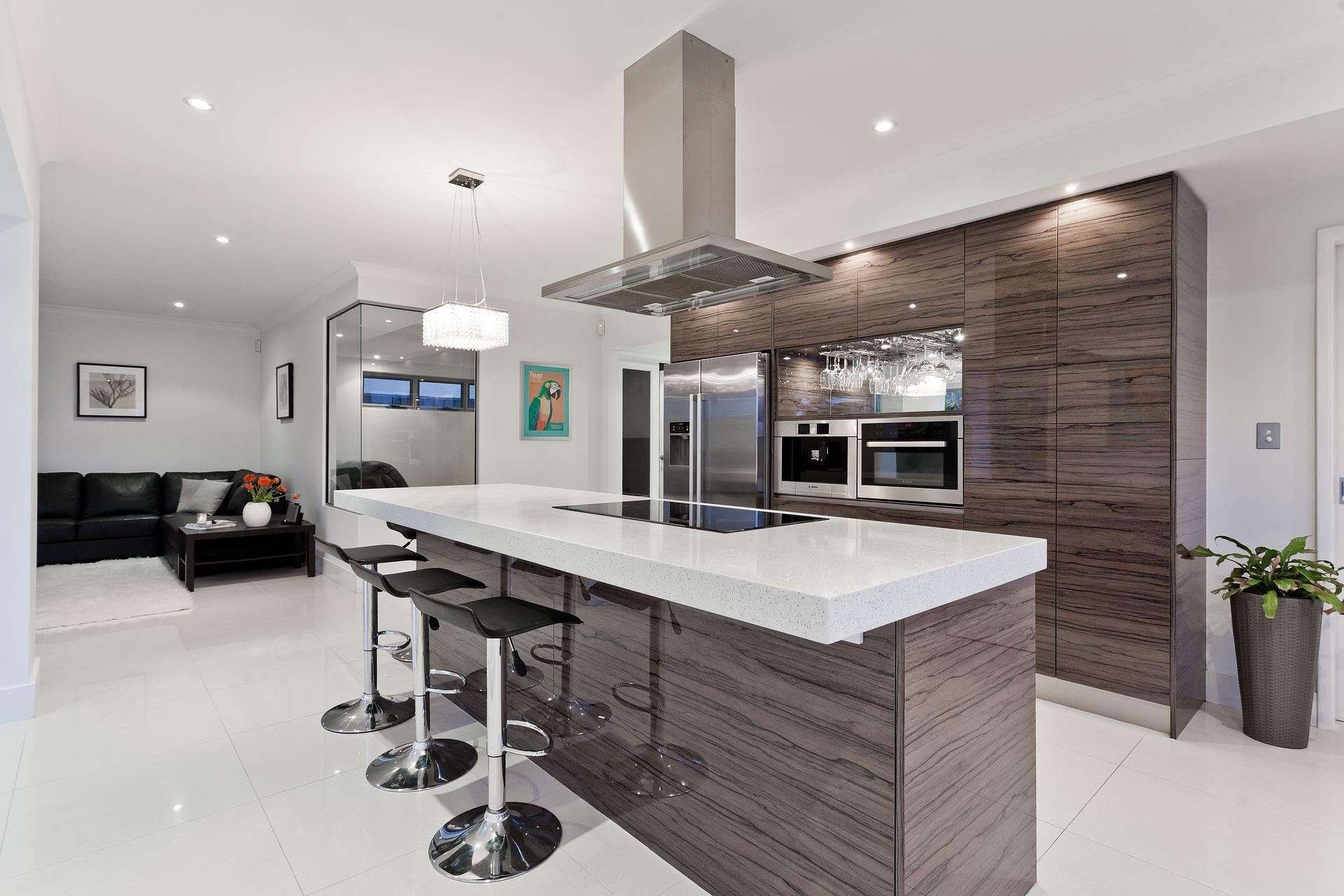 Küchenzeile zweizeilig
