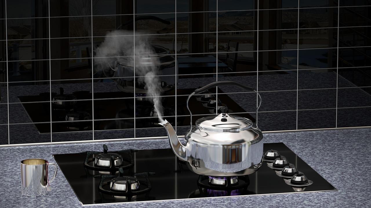 Pflegehinweis Küche Dampf