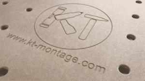 Logo in MDF