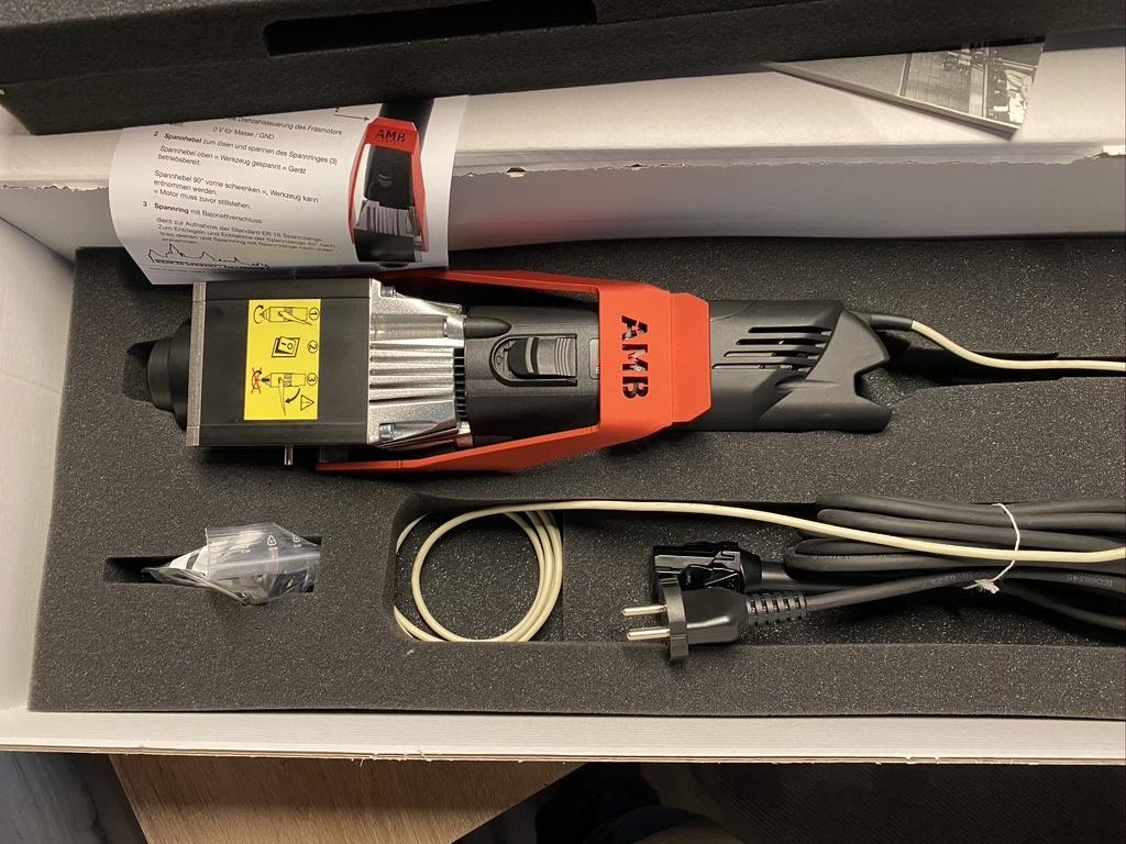 KT-CNC AMB 1050 fme-u di 230v